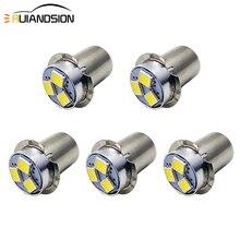 RUIANDSION 5 قطعة AC3V 4.5V 6V 12V 18V P13.5S PR2 الشعلة لمبة المصباح استبدال الصمام 4300K 6000K ل 2D 3D 4D Maglite 150Lm Nopolar
