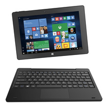 10.1 inch 2 in 1laptop 2GB RAM 32GB ROM Intel Atom Z3735F Windows 10 System with WiFi Blutooth 4.0 Support OTG