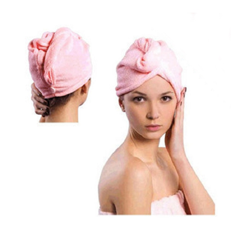Magic Dry Hair Cap Microfiber Bath Towel Super Absorbent Thickening Quick-drying Shower Cap Headscarf Hood Swimming Tools
