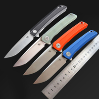 CH Tools CH3002 D2 Blade G10 Folding Knife Ball Bearing Flip Outdoor Camping Hunting Survival EDC Pocket Tool Collection Gift