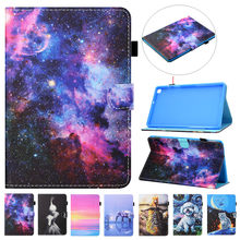 10 case tablet caso tablet para lenovo asus huawei samsung 9.7 10 1 10.2 funda moda pintado flip capa tablet 10 polegadas universal
