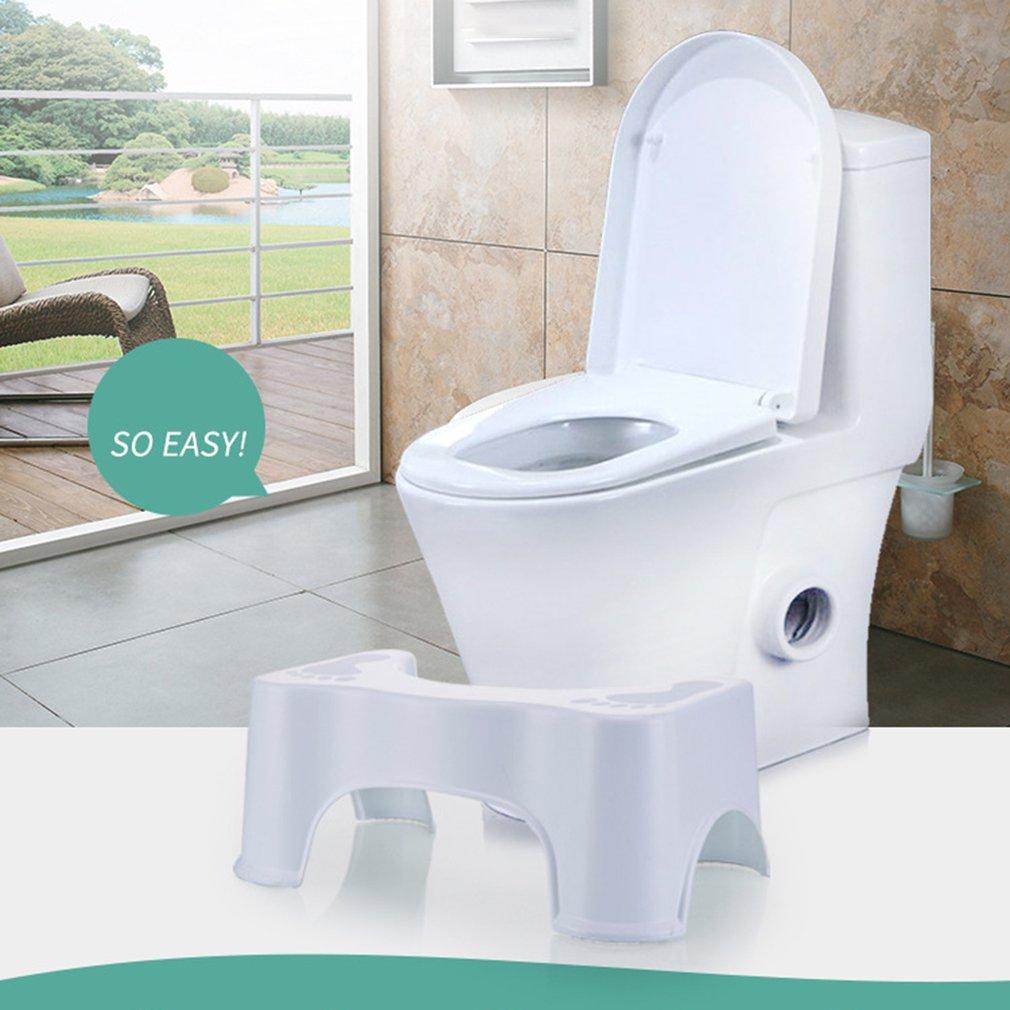 Thickened Non-Slip Bathroom Toilet Step Stool Elderly  Woman Child Stool Heightened Stool Baby Anti-Fall Toilet Stool 3