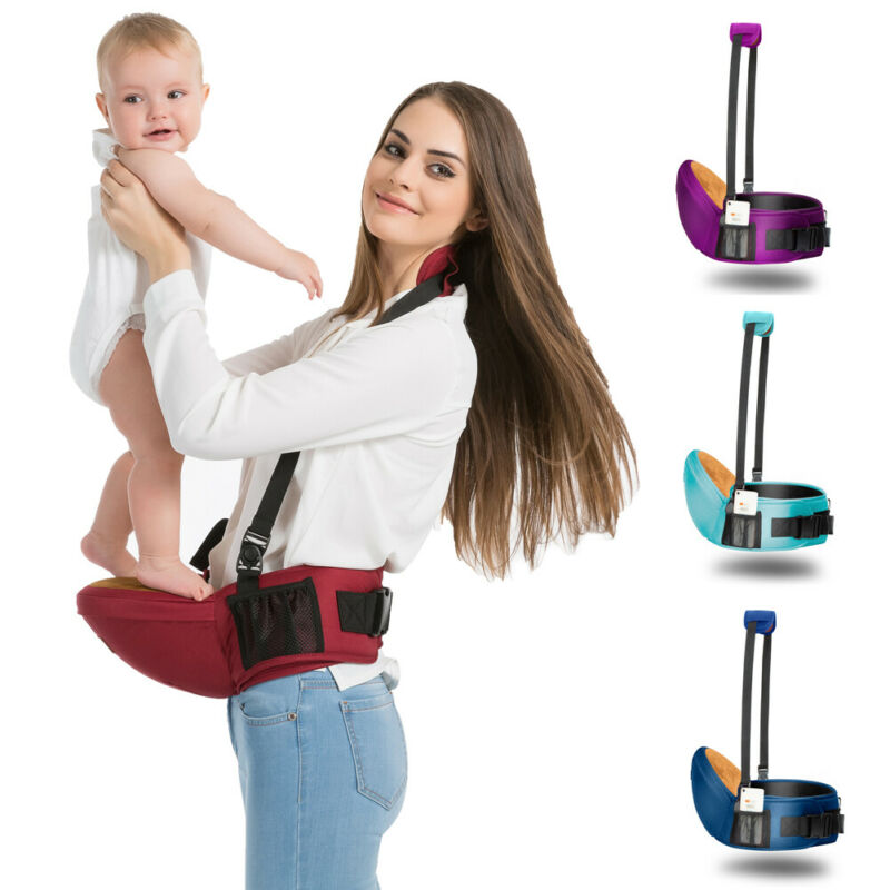 Newborn Infant Baby Carrier Waist Stool Walkers Kids Sling Hold Belt Backpack Breathable Ergonomic Adjustable Wrap Baby Seat