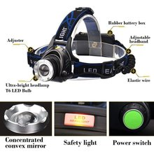 Led Headlamp Fishing Headlight T6 Modes Zoomable Lamp Waterproof Head Torch Flashlight Head Lamp For Camping panyue rj6000 6000lm 4 modes xml 3 t6 led headlight headlight rechargeable flashlight torch waterproof zoomable led headlamp