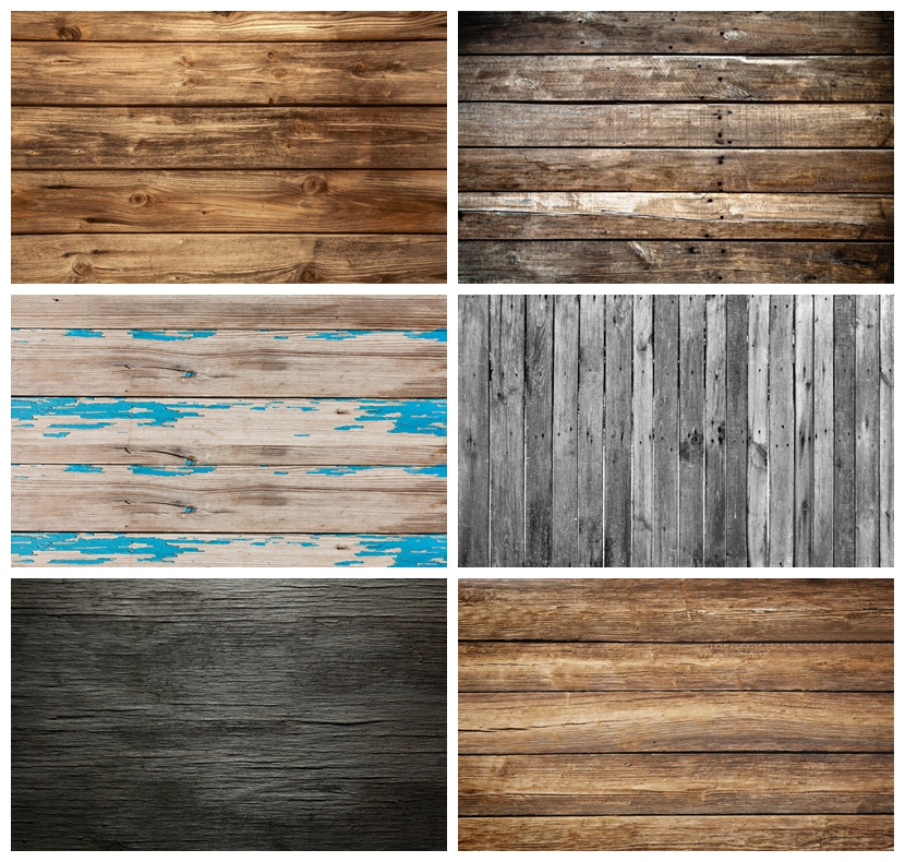 Laeacco Old Plank Wood Board Texture Baby Cake Smash Doll Potriat Photo Background Photocall Photographic Backdrop Photo Studio