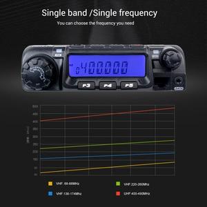 Image 3 - Retevis RT 9000D Mobile Car Radio Transceiver VHF 66 88MHz (or UHF) 60W 200CH Scrambler Walkie Talkie+Speaker MIC+Program Cable