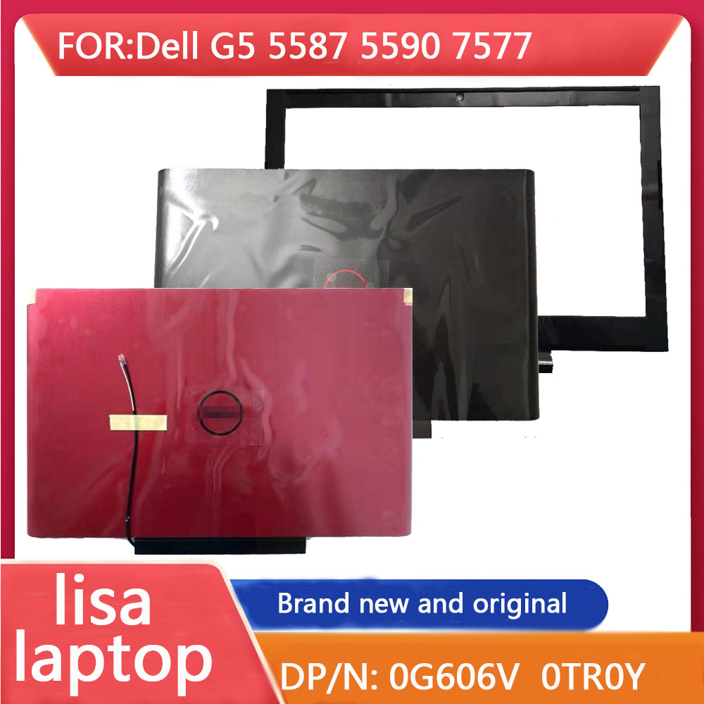 Cubierta trasera LCD aplicable a Dell G5 5587 5590 7577, deflector frontal LCD, 0g606v G606V 0TR0y 0NRKV7, totalmente nuevo y Original
