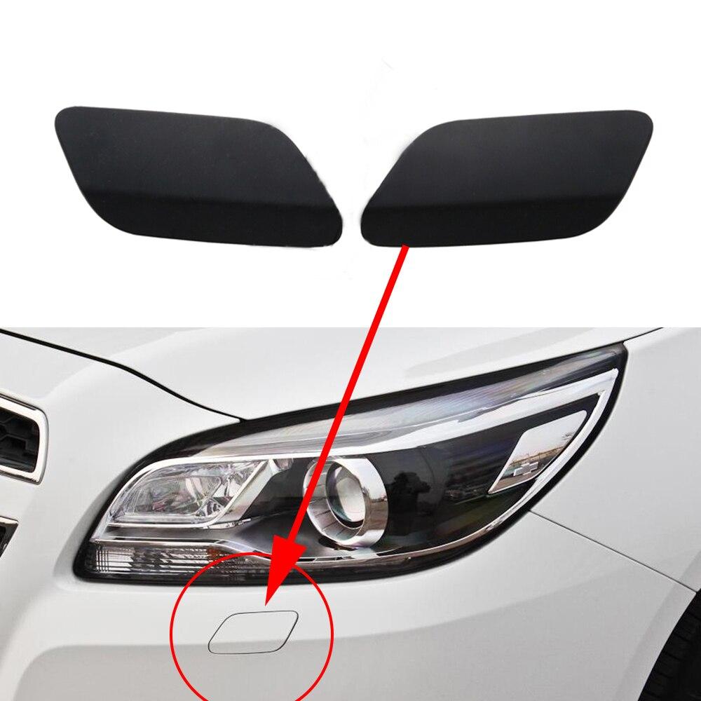 Für Chevrolet Malibu 2012 2013 2014 2015 Auto Scheinwerfer Washer Jet Abdeckung Grundiert Caps Auto Stoßstange Scheinwerfer Kappe
