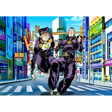 DIY Diamond Anime Character Painting Full Square Drill Jojo S Bizarre 5D Embroidery Pictures Wall Art Home Decor Cross Stitch tanie tanio YGYT Obrazy PAPER BAG Pojedyncze Akrylowe Pełna cartoon Zwinięte Powyżej 45 Plac Nowoczesne Wholesale And Retail Acrylic