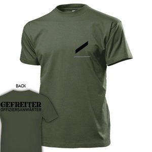 100% хлопок, летние мужские топы, футболки, футболка, Gefreiter Oa Dienstgrad Bundeswehr Abzeichen schulterklappettet Design