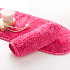 Image 2 - 40*17cm Reusable Microfiber Facial Cloth Face Towel Natural Antibacterial Protection Makeup Remover Cleansing Beauty Wash Tools