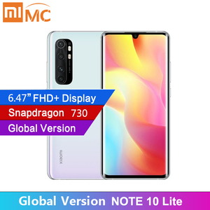 Original Global Version Xiaomi Mi Note 10 Lite 64GB 64MP Camera 6.47