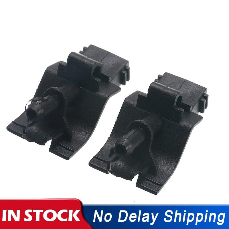 2 pçs carro dianteiro pára-brisa limpador lavadora bico ventilador-forma jet spray para toyota corolla altis camry 06-15 8538112300