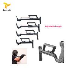 توترايت محول مساعد يصلح ل غلوك Airsoft مسدس كاربين تحويل الاستقرار مقبض دعم بوتستوك كاربين الملحقات