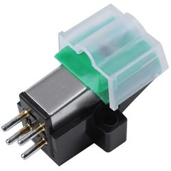 Gramofon antistatik karbon Fiber kayıt oyuncu Stylus 13Mm Pitch kayıt kartuş vinil Stylus iğne AT95E vinil kayıt P