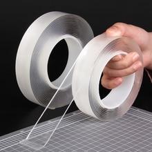 Sticker Double-Sided-Tape Non-Marking Nano Magic-Glue Washable High-Viscosity Universal