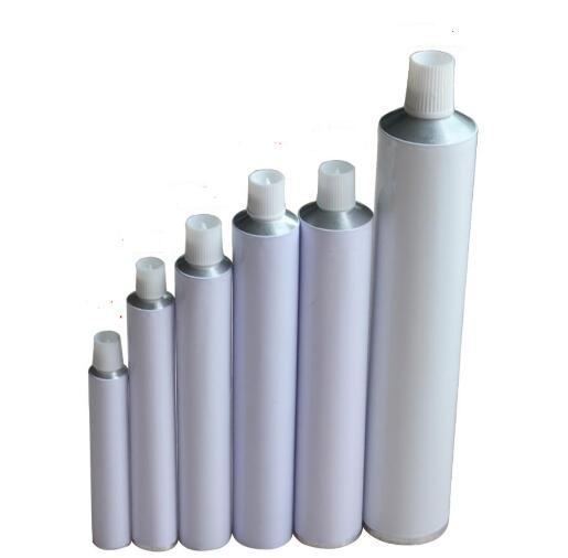 100 шт./лот пустые алюминиевые тюбики для зубной пасты с игольчатым колпачком незапечатанные 10 мл 15 мл 20 мл 30 мл 50 мл 60 мл 100 мл