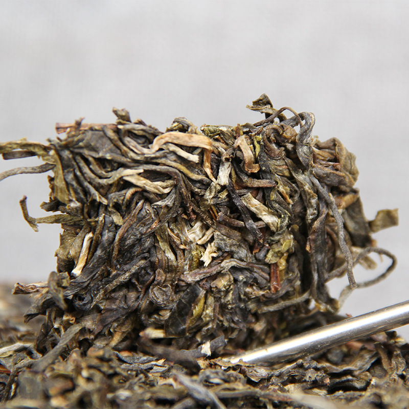 China Yunnan Raw Tea 2017 Spring Ancient Tea Pu'er Green Food for Health Care Lose Weight 3