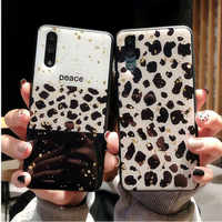 Bling Sequin Leopard Case For Samsung Galaxy A50 Case Cover For Samsung Note 10 Plus A10 S A20 S A30 A50 A70 A40 coque Cases