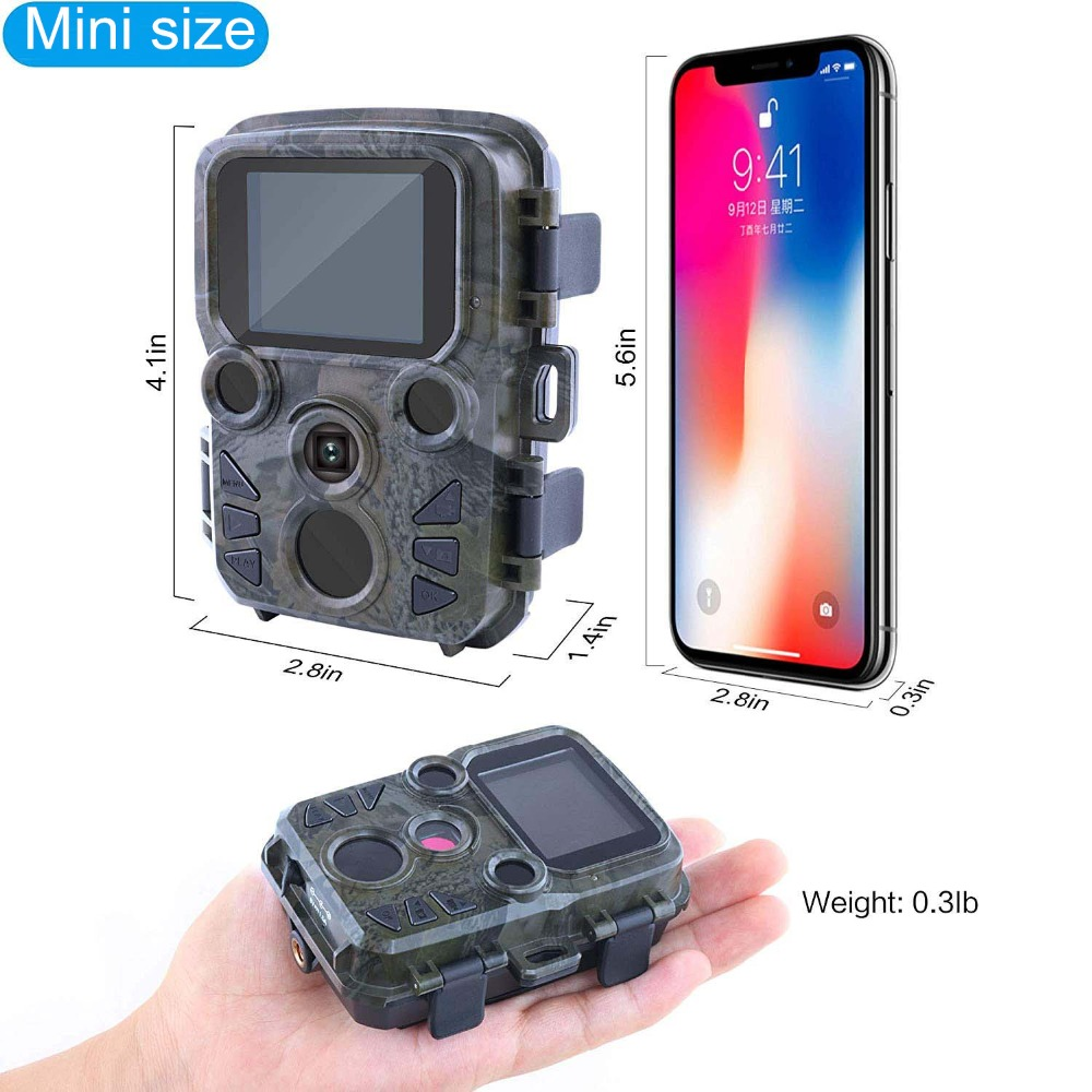 H2ed35fc0cf314d0bb324decb8ac91a4as - 16MP 1080P Mini Trail Photo-traps IP66 Hunting Camera Game Trail Camera Outdoor Wildlife Scout Guard Wildcamera with PIR Sensor