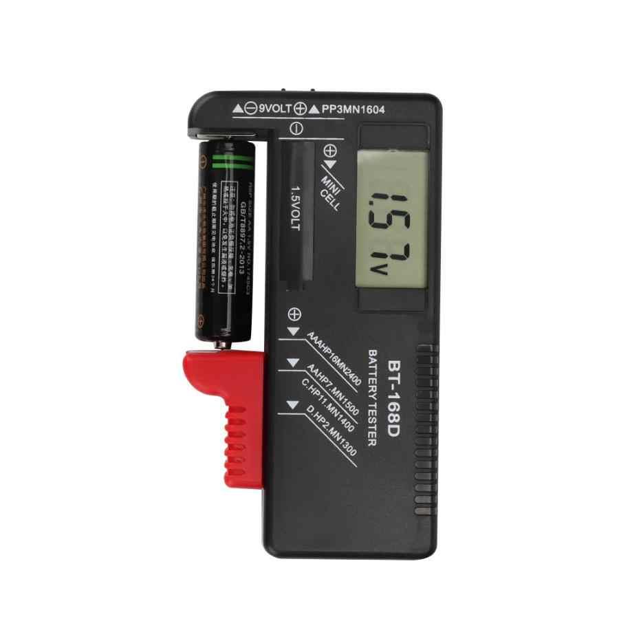 حوض السمك الملحقات المحمولة الرقمية 1.5 فولت 9 فولت جهاز اختبار بطارية قياس التشخيص مدقق محلل جودة المياه اختبار ل