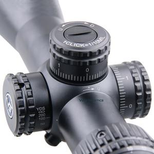 Image 4 - Vector Optics Veyron 4 16x44 Air Zielfernrohr FFP Zielfernrohr Ultra Kurze Kompakte 1/10 MIL .22 .25LR Auch Passt Kurze Schusswaffen