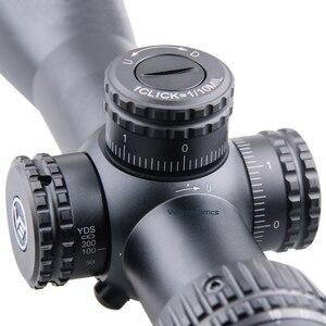 Image 4 - וקטור אופטיקה Veyron 4 16x44 אוויר רובה היקף FFP Riflescope אולטרה קצר קומפקטי 1/10 MIL .22 .25LR גם מתאים קצר נשק