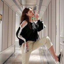 Осень 2020 Новый корейский стиль с длинным рукавом толстовки