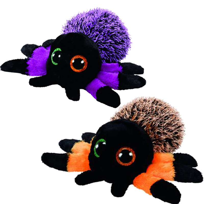 Ty Creeper The Halloween Spider Plush Animal Toys Stuffed 15cm