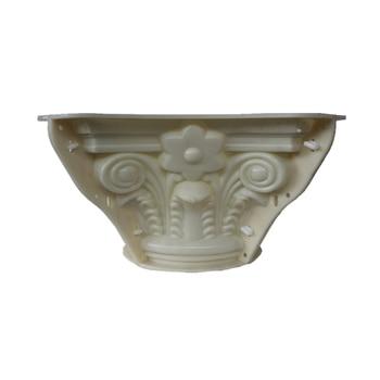 30cm (11.8in, Internal Diameter)ABS Multi Pattern Durable Round Concrete Roman Pillar TOPMold with Beak, Leaves &Plain Embossing