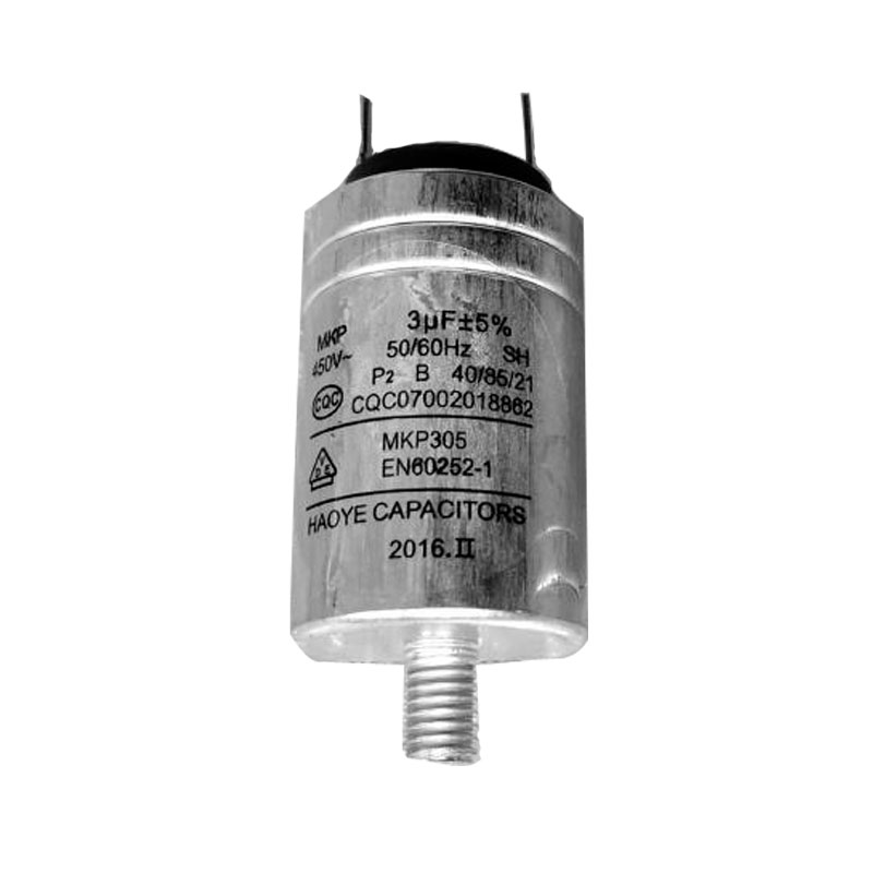 Dish Washer Parts Aluminum Housing Capacitor MKP-3UF 450VAC