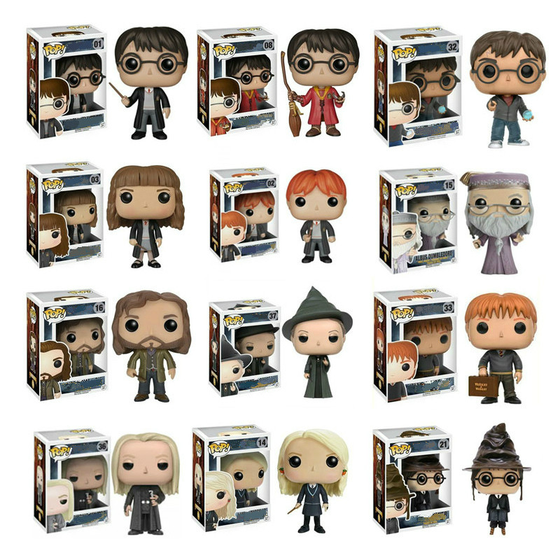 Funko Pop Harri Potter And The Philosopher's Stone 2019 MINERVA Action Figures PVC Model Boy Toys Birthday Christmas Gift