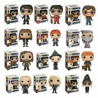 Funko Pop Harri Potter e A Pedra filosofal 2019 MINERVA Figuras de Ação PVC Modelo Brinquedos Presente de Natal de Aniversário do Menino