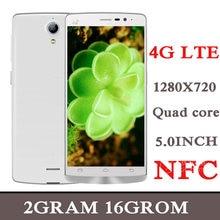 Versão global smartphones 7c 4g lte 2g ram + 16g rom 5.0 polegada tela cheia quad core 5mp + 13mp nfc telefones celulares android celuares