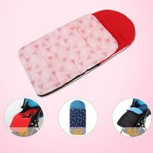 Winter Thick Warm Baby Stroller Sleeping Bag Newborn Foot Cover  Pram Wheelchair 86CM*40CM