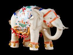 В стиле кукол Shiwan master fine animal Stone bay ceramic geomancy 1 пара керамических домашних свадебных подарков с изображением слона