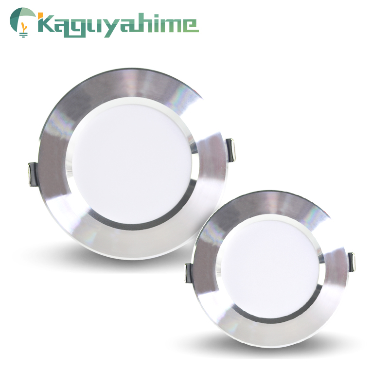 Kaguyahime LED Downlights 5W 9W 15W 18W Ultra Thin Spot Light 220V LED Round Panel Lamp Integrated Power Driver Indoor Lighting