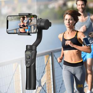 Image 5 - Glatte Smart Telefon Stabilisierung H4 Halter Haltegriff Gimbal Stabilisator für Iphone Samsung & Action Kamera