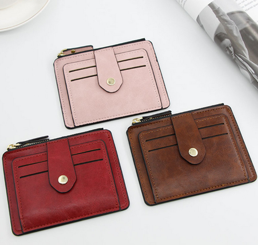Ladies PU Leather Driver License Clip High Quality Ladies Credit Card Box Credit Card Badge Driver's License ID Wallet