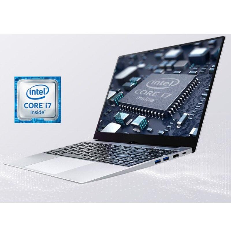 Günstige Gaming Laotop 15,6 Zoll Intel Core I7 I5 8GB 1TB SSD 128 GB/256 GB Windows 10 Netbooks Laptop Computer