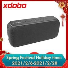 Xdobo X8 5.0 Bluetooth 60W Draagbare Speaker Deep Bass Soundbar Met IPX5 Waterdichte Luidspreker 360 ° Surround Sound Voice assistent