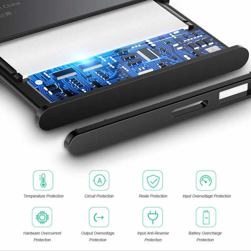 5550mAh yüksek kaliteli BL-51YF pil için LG G4 H815 H818 H819 VS999 F500 F500S F500K F500L H811 V32 telefon BL-51YH pil