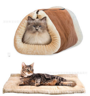 Cat-related Products Cat Sleeping Blanket Cat Crossing Cat Sleeping Bag Kennel Cat Nest Pet Dual Purpose Sleeping Bag Wholesale