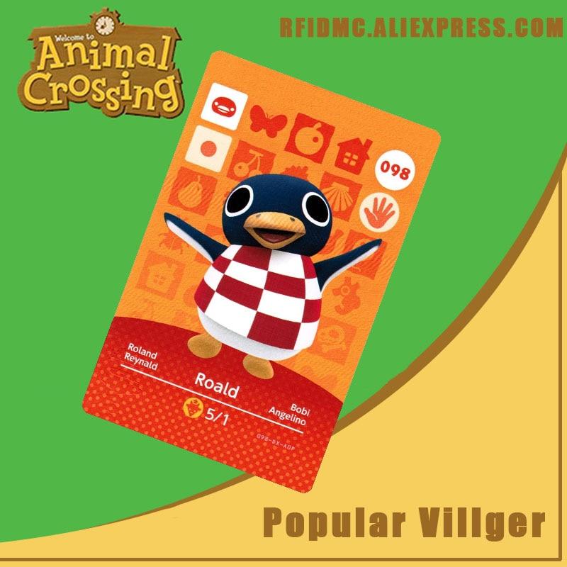 098 Roald Animal Crossing Card Amiibo For New Horizons