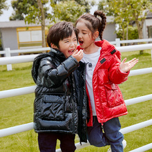 BIAOLUN Winter Jacket girls boys Duck Down children fashion clothing jacket thick clothes for kids for 30 degrees below zero Warm цены онлайн