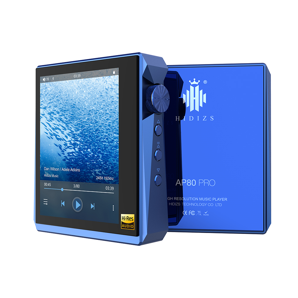MP3 Players Hidizs AP80 PRO dual ESS9218P Bluetooth Portable Music USB DAC Hi-Res Audio DSD64/128 Apt-X/LDAC FM Step Counter