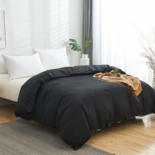 100% Cotton Duvet Cover Solid Color Quilt Cover Single Double Queen King Comforter Cover High Quality Bedding Cover 200x200