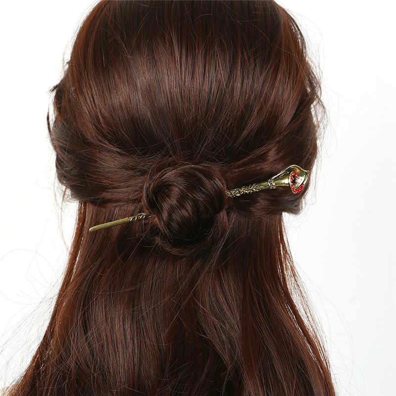 LZHLQ โลหะชุบ Hairpin Geometric Hollow น่ารักน่ารักสวมใส่ผู้หญิง 2020 แฟชั่นอินเทรนด์เครื่องประดับผมอุปกรณ์เสริม