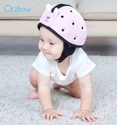 Orzbow Baby Home Head Protection Helmet Baby Safety Ultra light Helmet Children Learn To Walk Protector Hat For Toddler kids