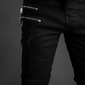 Image 5 - Motorcycle jeans 2019 Pantalones Motocicleta Hombre Featherbed Jeans The Standard Version Car Ride Trousers pant motorcycles men